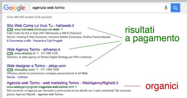 differenza-pubblicita-risultati-organici