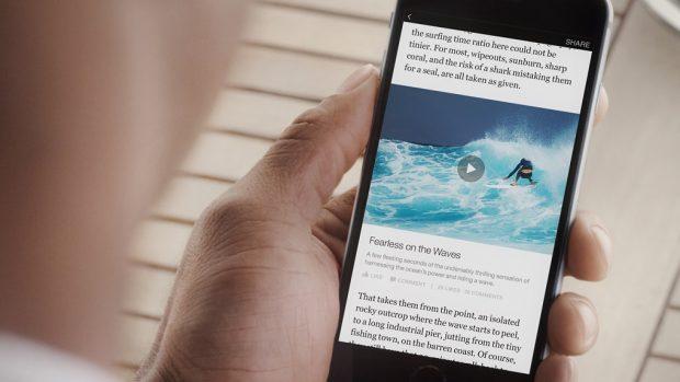 contenuti ottimizzati per mobile