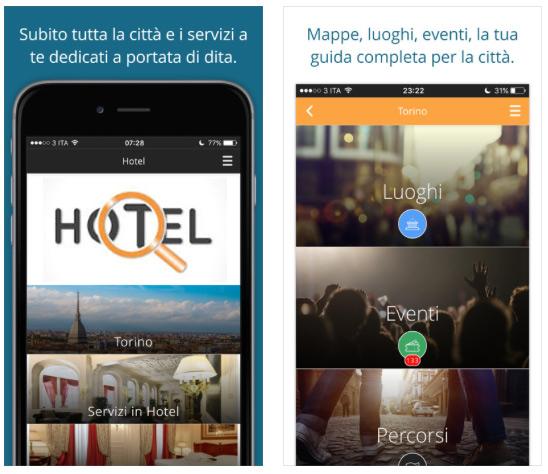 app per hotel come guida turistica