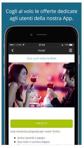 app hotel per comunicare offerte