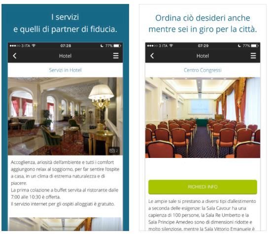 app hotel per servizi
