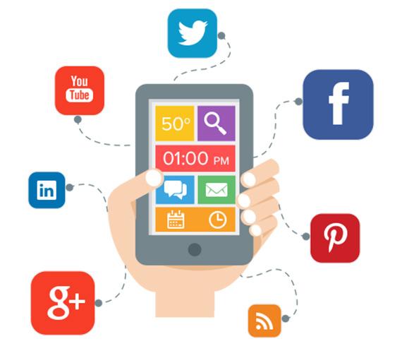 app hotel social media