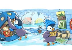 doodle buone feste google