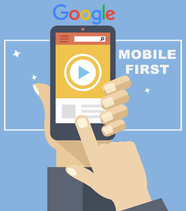 google mobile first website